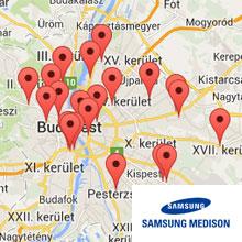 4d ultrahang rendelők térkép Budapesten